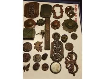 Collection of very old artifacts XVI - XIX century