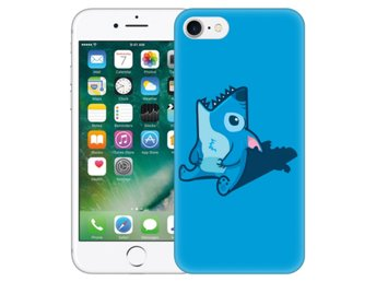 iPhone 7 Skal Stitch Haj