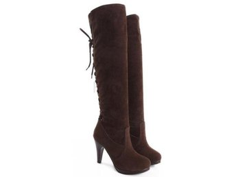 Dam Boots winter botas heels footwear shoes P6782 Brown 34