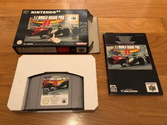 F-1 World Grand Prix 2 CIB - N64