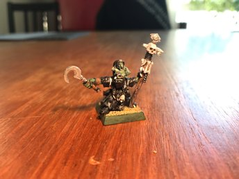 NIGHTGOBLIN SHAMAN Warhammer- age of sigmar - Kings of war