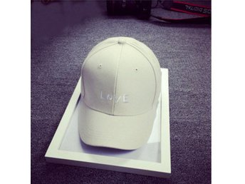 Women Cotton Embroidery Letter Baseball Cap Men Snapback ...