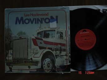 LEE HAZLEWOOD, LP, Movin´ On