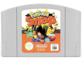 Pokémon Snap - N64 - PAL (EU)
