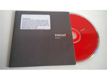 Interpol - PDA, single CD