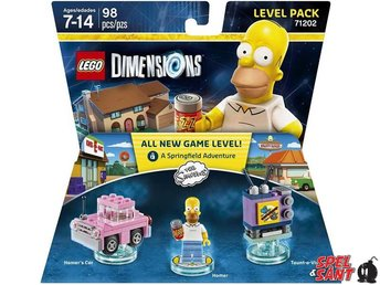 Lego Dimensions The Simpsons Level Pack 71202