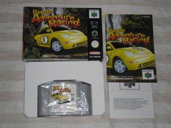 Nintendo 64: Beetle Adventure Racing (svensksålt) - Stockholm - Nintendo 64: Beetle Adventure Racing (svensksålt) - Stockholm
