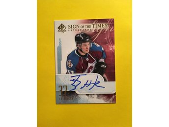 T.J. HENSICK: 2008-09 SP Authentic Sign of the Times #STHE