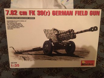 miniart - 7.62 cm FK 39(R) german field gun