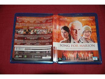 Song For Marion. Vanessa Redgrave, Gemma Burton, Terence Stamp. BluRay..