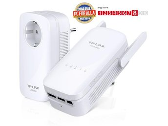 TP-Link TL-WPA8630 KIT - AV1200 / 1200Mbps / 3-port switch / Wireless Extender /