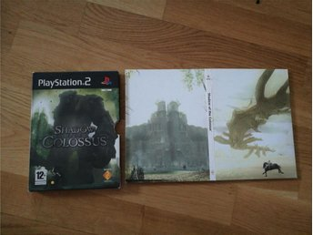 Shadow of the Colossus limited paper edition - PS2