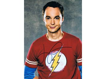 Äkta Autograf Jim Parsons Big Bang Theory  COA