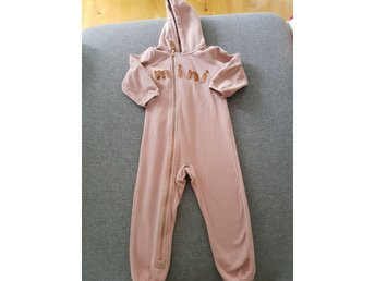 Mini rodini fleece onsie jumpsuit stl 80/86
