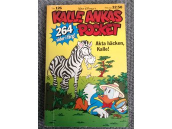 Kalle Ankas pocket nr 126