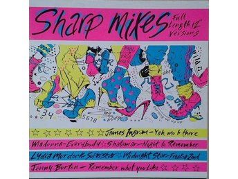 Various title* Sharp Mixes* Disco, Electro LP Comp. Germany