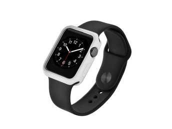 Devia Apple Watch 38mm silikonskal - Vit