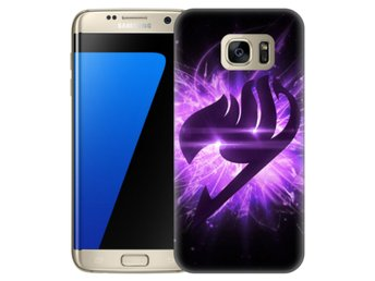 Samsung Galaxy S7 Edge Skal Lila Fairy Tail