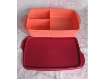 Tupperware Stor Snackbox ny