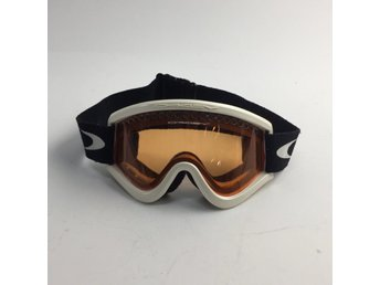 Oakley, Skidglasögon, Svart/Vit/Orange