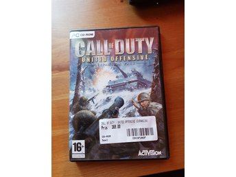 Call of duty, expansion pack Pc spel