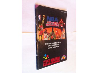 SNES Manualer: NBA All-Star Challenge