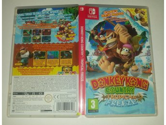 Donkey Kong Country Tropical Freeze till Nintendo Switch! Passa på! 1kr