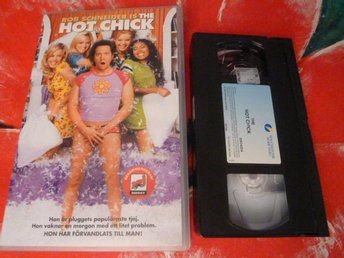 THE HOT CHICK,  KOMEDI, FILM, VHS, 100 MIN.