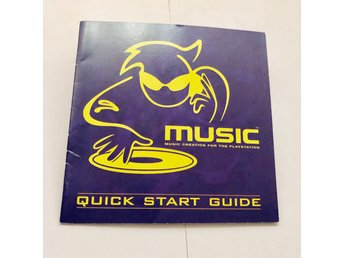 Music - Music creation for the playstation (Manual PS1)