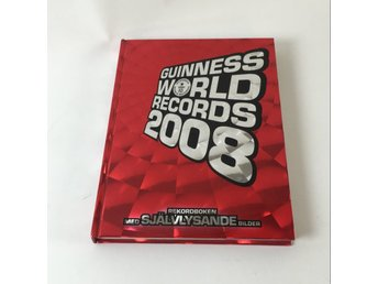 Bok, Guinness world records 2008, Guinness, Inbunden, ISBN: 9789137130842