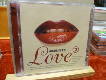 ABSOLUTE LOVE 2 , Dubbel-CD , Utgiven 1997
