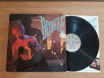 DAVID BOWIE   LP  LET`S DANCE  ÅR 1983