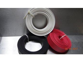 Välkända Krympslang 14mm vit,röd, svart (360731613) ᐈ Köp på Tradera NW-52