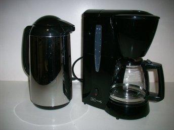 melitta kaffebryggare termos