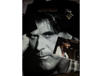 "Bryan Ferry - t-shirt large/ cd ""Let's stick together"""
