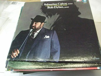 SEBASTIAN CABOT dramatic reading with music BOB DYLAN