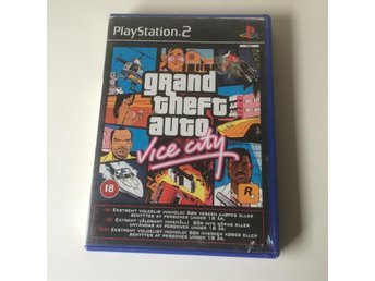 Grand Theft Auto: Vice City - Playstation2 / Ps2 spel