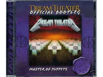 DREAM THEATER Master Of Puppets (Live in Barcelona CD)