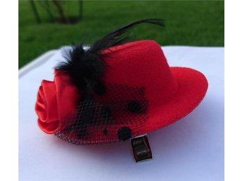 Hårklämma hatt accessoar fest - Uppsala - Hårklämma hatt accessoar fest - Uppsala