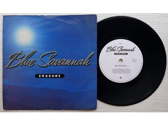 "ERASURE 'Blue Savannah' 1990 UK 7"" - Bröndby - ERASURE 'Blue Savannah' 1990 UK 7"" - Bröndby"