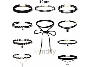 Halsband Set 10 Pieces Per Set