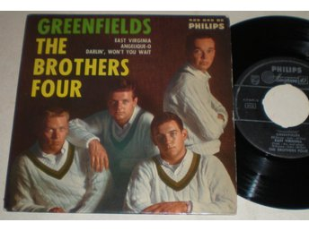 Brothers Four EP/PS Greenfields 1960