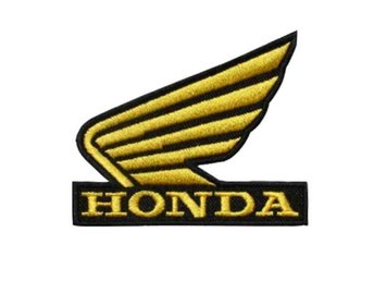 Honda Racing Patch Brodyrmärke.