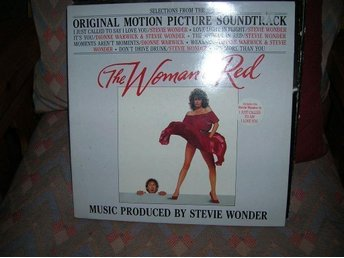 THE WOMAN IN RED  LP SKIVA