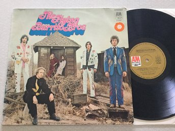 Lp Flying burrito bros-The gilded palace of sin rare germany org på A&M