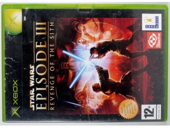 Star Wars: Episode III Revenge of the Sit - Xbox - PAL (EU)