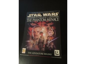 Star Wars episode 1 The Phantom Menace PC-spel ( 1999? ) Grymt cool. Ny!! (S/S)