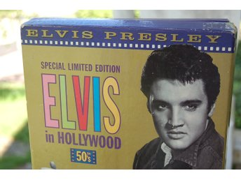 "Elvis "" in Hollywood The 50's "" limited CD & VHS Video Box"