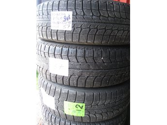 4st Michelin X-ice 195/65R15 91T  5mm.