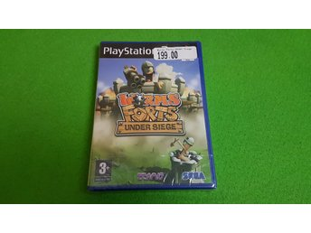 Worms Forts Under Siege NYTT INPLASTAT PS2 Playstation 2